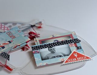 Clear Scraps Sailboat Mini Album Pinky Hobbs5