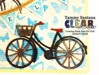 Layout bike closeup