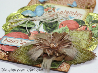 Clear Scraps September Tag Angel Lebouef closeup 2