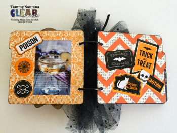 Halloween recipe book page 2