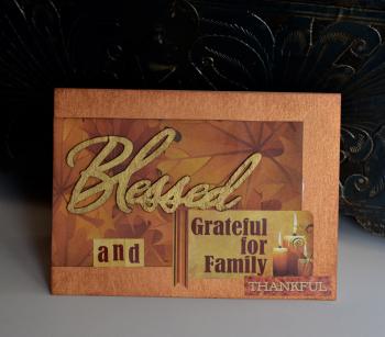 Creating Made Easy November Kit Blessed Card Pinky Hobbs - 1
