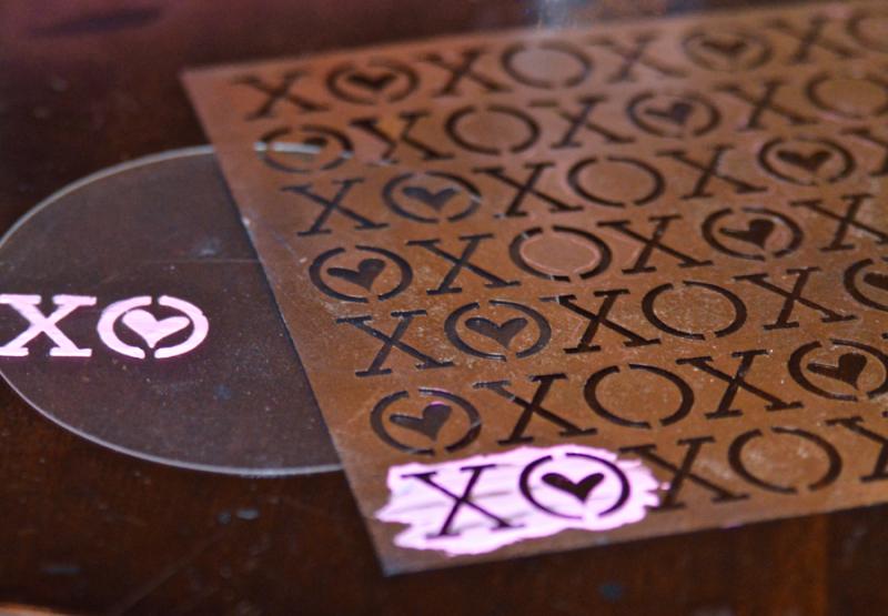 Clear Scraps Butterfly Stencil Modeling Paste Shaker Pinky Hobbs - 4