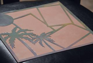 Clear Scraps Acrylic Layout Bahamas Pinky Hobbs - 3