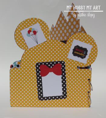 Magical Mini Album  Clear Scraps Kits  Ruthie Lopez. 2
