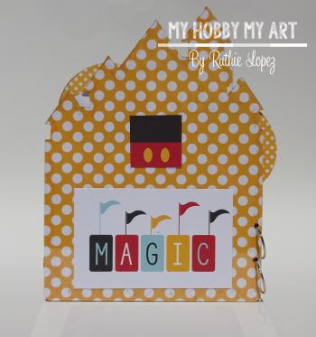 Magical Mini Album  Clear Scraps Kits  Ruthie Lopez 5