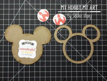 Mouse Shaker  Tutorial  Clear Scraps Kit  Ruthie Lopez 4