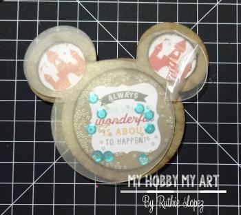 Mouse Shaker  Tutorial  Clear Scraps Kit  Ruthie Lopez 8