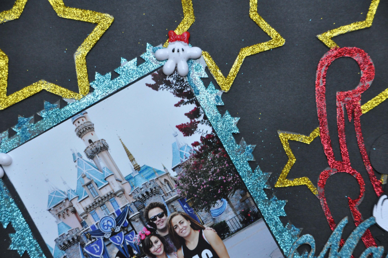 Disney layout_clear scraps_embellishments