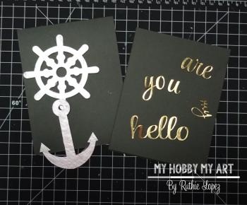 Tutorial  Clear Scraps Kits  Ruthie Lopez  Nautical card