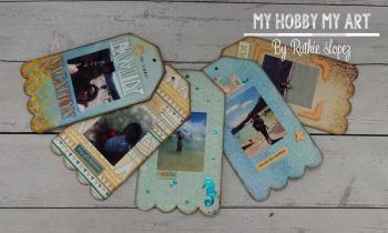 Mini album  clear Scraps Kits  Ruthie Lopez 8