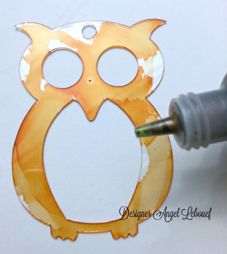 Owl Keychain Mini 3