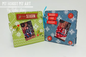 Mini Album  clear Scraps Kits  Ruthie Lopez 8