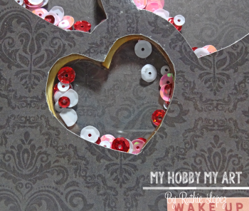 Wood Heart  Shaker Album  Clear Scraps  Ruthie Lopez 5