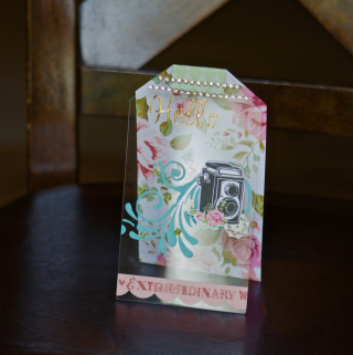 Clear Scraps Tag Card by Pinky Hobbs - 1