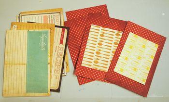 05-family recipe album recipe cards