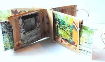 8-Fall foliage album pockets with photos detail