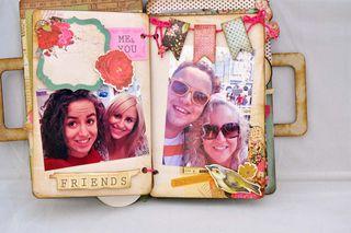 Family_luggage_mini album_clearscraps_nancy keslin