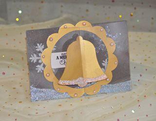 Clear Scraps Christmas Card Send It Clear Krylon Pinky Hobbs2