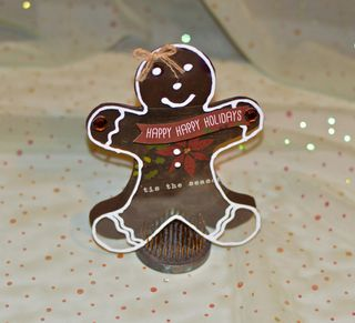 Gingerbread Card Creating Made Easy Clear Scraps Pinky Hobbs4