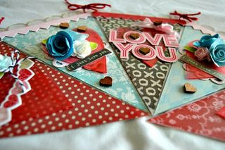 Love you banner detail
