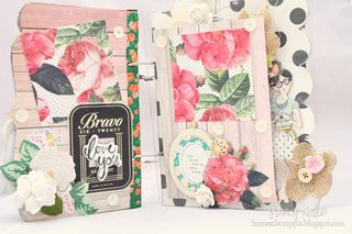Mini album_clear scraps_nancy keslin_crate paper_open book_2