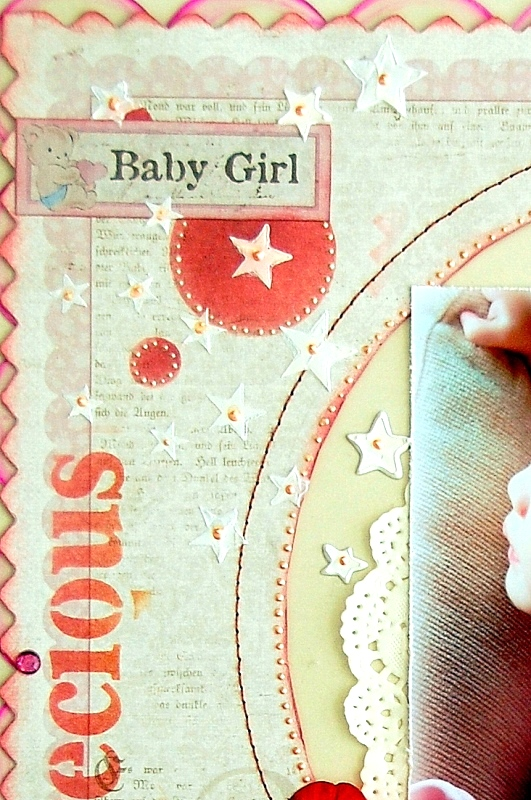 Precious Baby Girl Layout by Irene Tan 05