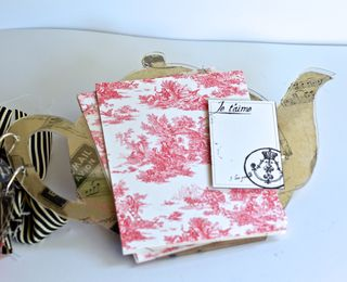 Clear Scraps Acrylic Teapot Mini Album Pinky Hobbs Canvas Corp5