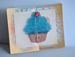 Clear Scraps Cupcake card Pinky Hobbs2
