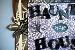 Haunted House Clear Scraps Hallween Craft Pinky Hobbs Home Decor1