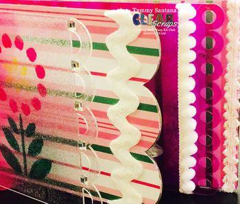 Clear Scraps February Kit Club Mini Album by Tammy Santana 3