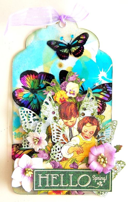 Hello Spring Tag by Irene Tan 01