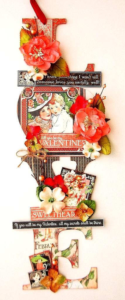 Altered Acrylic Love Decor by Irene Tan 01