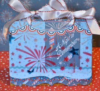 June Kit Creating Made Easy Pinky Hobbs Mini Album Stencil Krylon Clear Scraps2