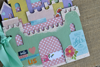 Sandcastle Mine Album Creating Made Easy July Kit by Pinky Hobbs5