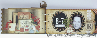 Clear Scraps Chipboard Album-Angel Lebouef 5