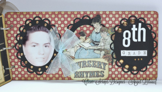 Clear Scraps Chipboard Album 7