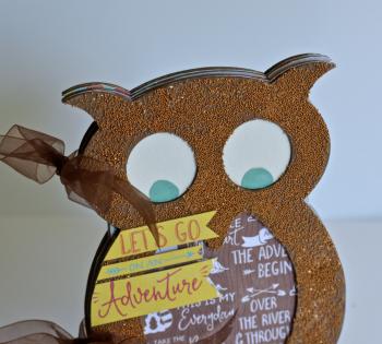 Creating Made Easy September Kit Owl Album Pinky Hobbs5