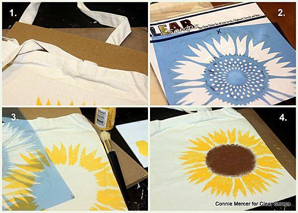 Sunflower_stencil_clear scraps_c. mercer