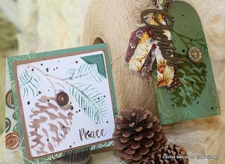 Pine cone stencil_clear scraps_acrylic _c.mercer