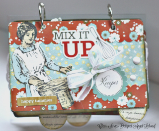 Mix it Up Mini-Clear Scraps -Angel Lebouef