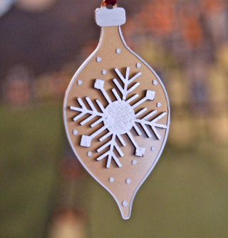 Clear Scraps Ornaments by Pinky Hobbs Sharpie Paint Pen - 3