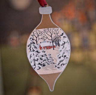 Clear Scraps Ornaments by Pinky Hobbs Sharpie Paint Pen - 4