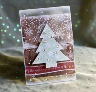 Clear Scraps Send It Clear Tree Card Pinky Hobbs - 1
