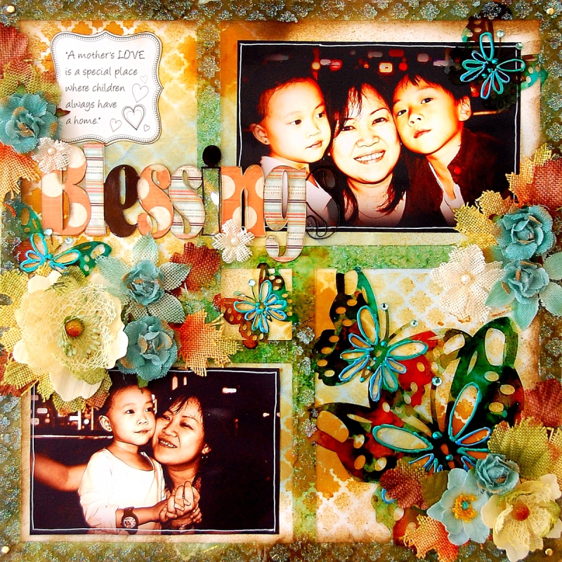Blessings Layout Frame by Irene Tan 01