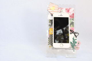 Phone stand_nancy keslin_kite chipboard