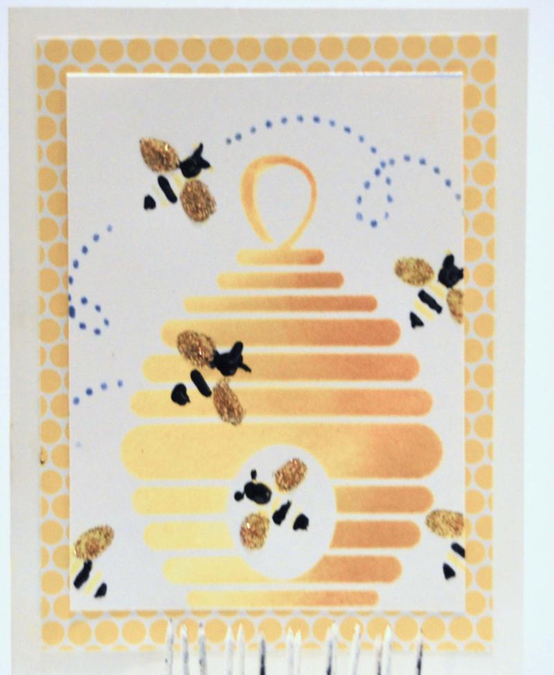 Bees_layers_card_clearscraps_nancy keslin