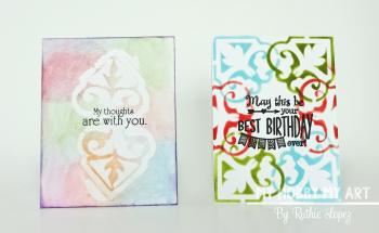 Clear Scraps Kit  Cards  Ruthie Lopez