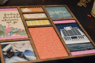 Clear Scraps Vacation Printer Tray by Pinky - 7