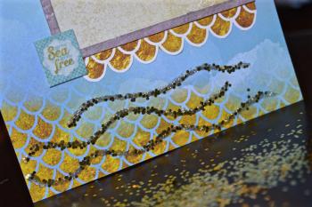 Creating Made Easy August Kit Pinky Hobbs Mermaid Layout - 2