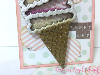 Ice Cream Card Closeup
